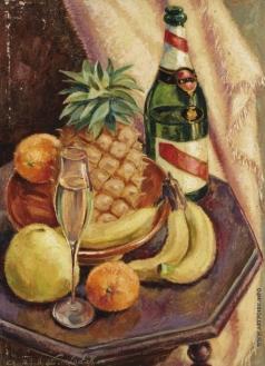 Пожедаев Г. А. Натюрмотрт с ананасом