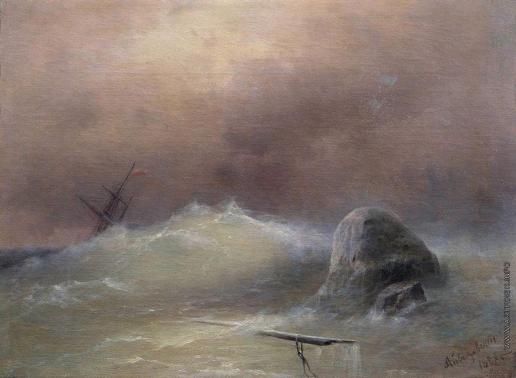 Айвазовский И. К. Бурное море