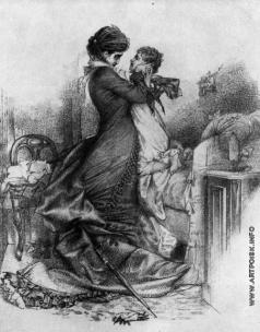 Врубель М. А. Свидание Анны Карениной с сыном