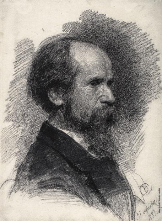 Серов В. А. Портрет П.П. Чистякова