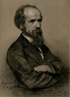 Савинский В. Е. Портрет П.П. Чистякова