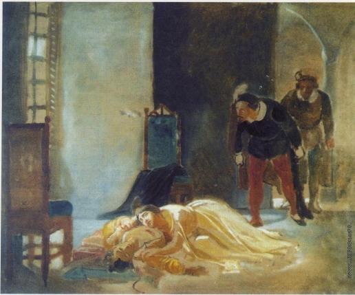 Ге Н. Н. Смерть Имельды Ламбертацци