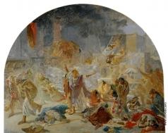 Ге Н. Н. Разрушение Иерусалимского храма