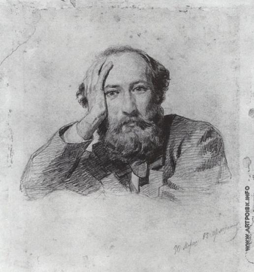 Ге Н. Н. Портрет Г.П. Кондратьева