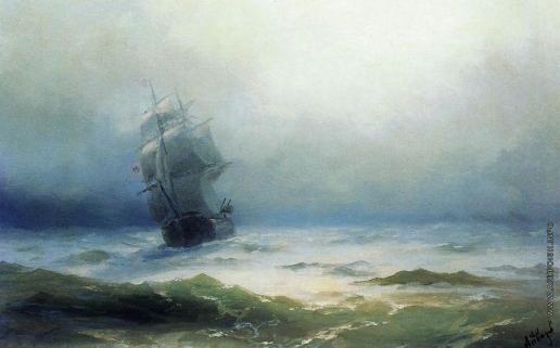 Айвазовский И. К. Буря