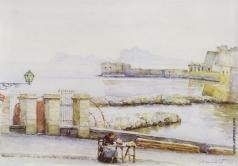 Суриков В. И. Неаполь. Набережная
