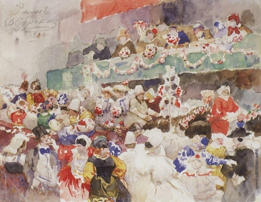 Суриков В. И. Римский карнавал