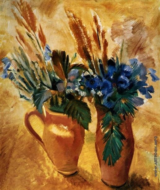 Тырса Н. А. Два горшка с цветами