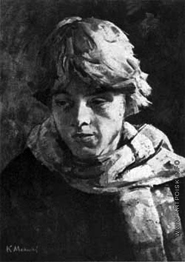 Максимов К. М. Портрет сына Алеши