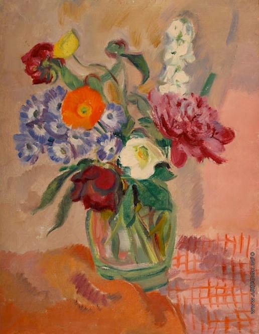 Тырса Н. А. Цветы в банке