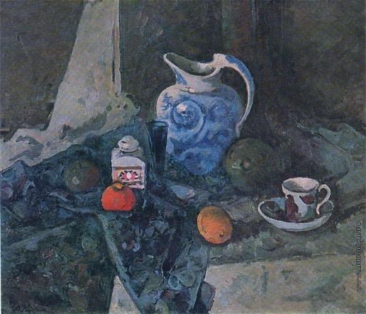 Куприн А. В. Натюрморт с синим кувшином