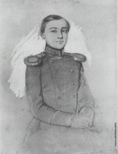 Федотов П. А. Портрет молодого офицера