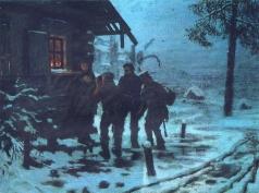 Савицкий К. А. Беглые в Сибири (Христова милостыня)