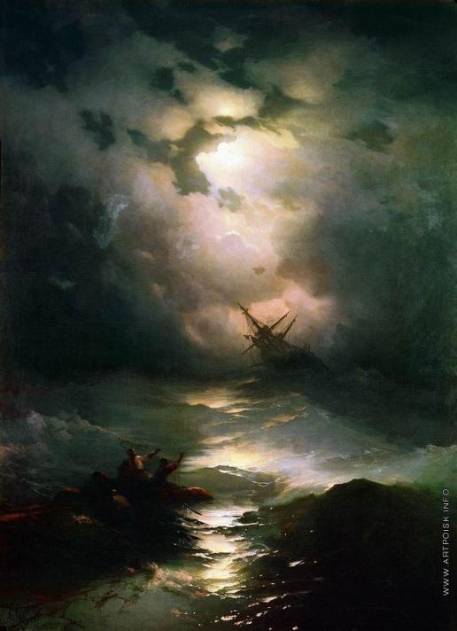 Айвазовский И. К. Буря на Северном море