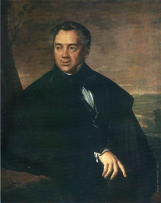 Тропинин В. А. Портрет неизвестного