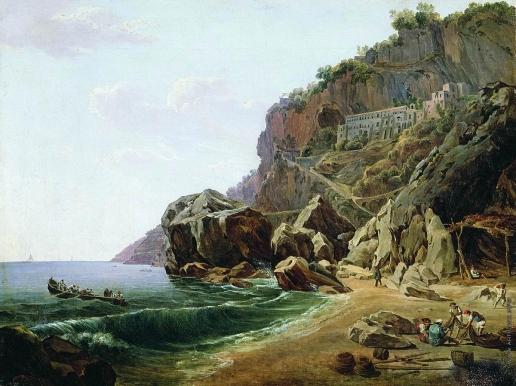 Щедрин С. Ф. Вид в окрестностях Неаполя