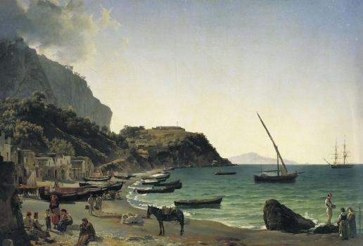 Щедрин С. Ф. Большая гавань на острове Капри