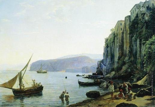 Щедрин С. Ф. Вид Сорренто близ Неаполя