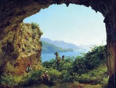Щедрин С. Ф. Грот Матроманио на острове Капри