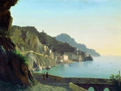 Щедрин С. Ф. Итальянский пейзаж. Капри