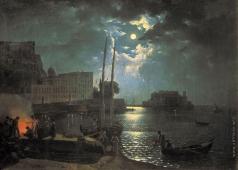Щедрин С. Ф. Лунная ночь в Неаполе