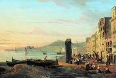 Щедрин С. Ф. Набережная в Неаполе