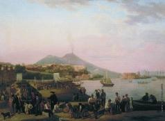 Щедрин С. Ф. Неаполь. На набержной (Ривьера ди Кьяйя)