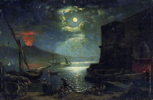 Щедрин С. Ф. Ночь в Неаполе