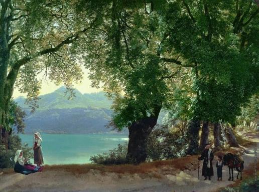 Щедрин С. Ф. Озеро Альбано в окрестностях Рима