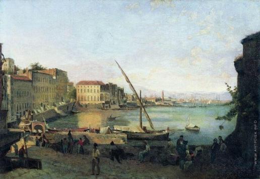 Щедрин С. Ф. Санта-Лючия в Неаполе