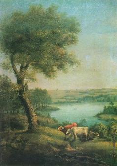 Щедрин С. Ф. Пейзаж с коровами