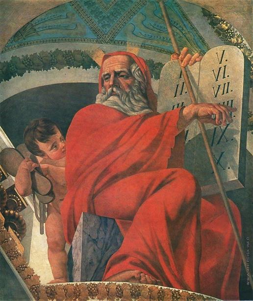 Шебуев В. К. Моисей со скрижалями