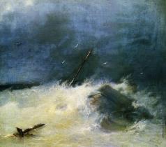 Айвазовский И. К. Буря на море