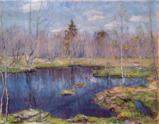 Бялыницкий-Бируля В. К. Весна. Лесная вода