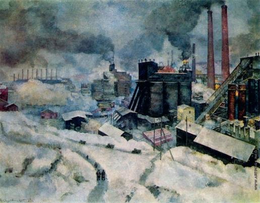 Рождественский В. В. Индустриальный пейзаж