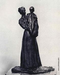Трубецкой П. П. Мать с ребенком