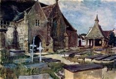 Бенуа А. Н. Кладбище в Бретани
