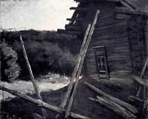 Лансере Е. Е. Летний пейзаж