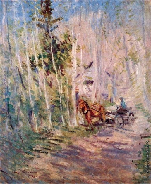 Коровин К. А. Весной