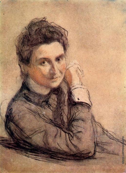 Серов В. А. Портрет А.П. Трояновской