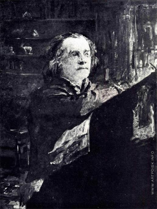 Серов В. А. Портрет отца (композитора А.Н. Серова