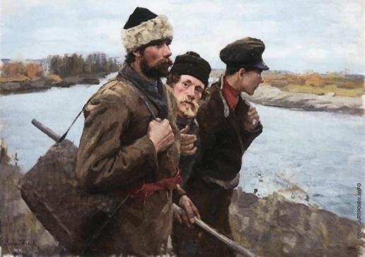 Попов Л. В. Ходоки на новые места