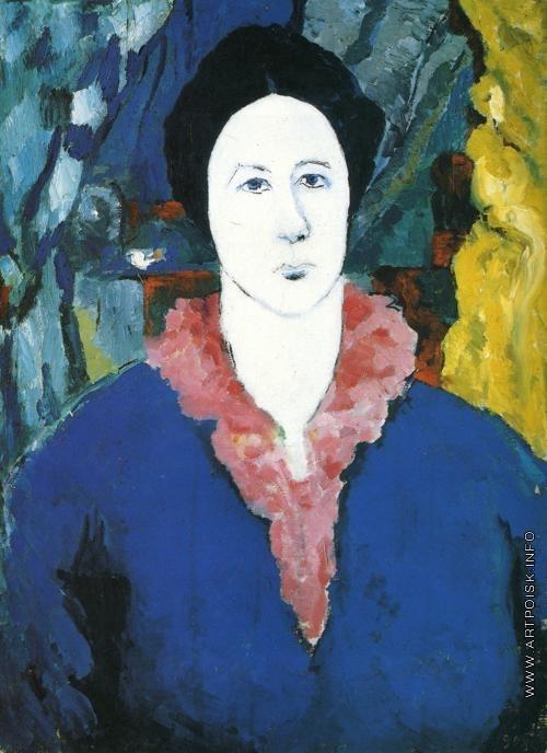 Малевич К. С. Синий портрет