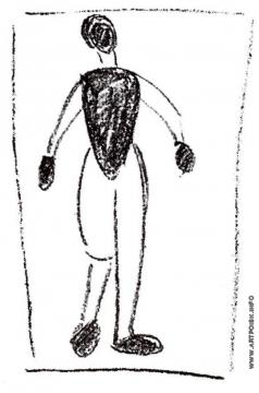 Малевич К. С. Стоящая фигура