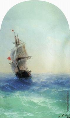 Айвазовский И. К. Бушующее море