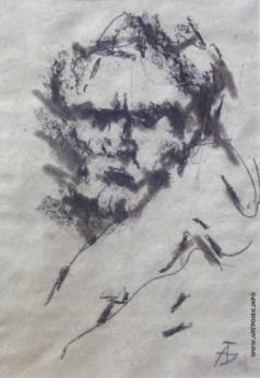 Бух А. Ф. Автопортрет