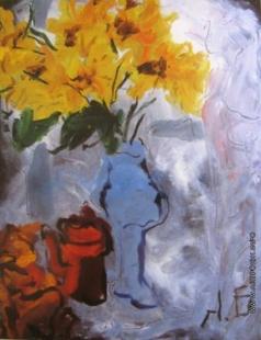 Бух А. Ф. Жёлтые цветы
