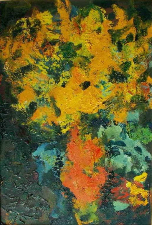 Бух А. Ф. Желтые цветы
