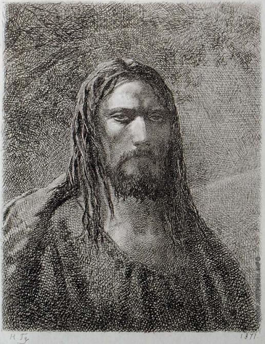 Ге Н. Н. Христос в Гефсиманском саду