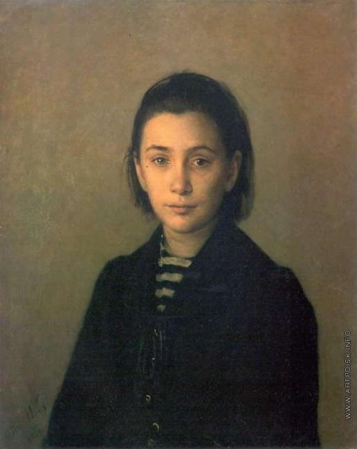 Ге Н. Н. Портрет О.П.Костычевой